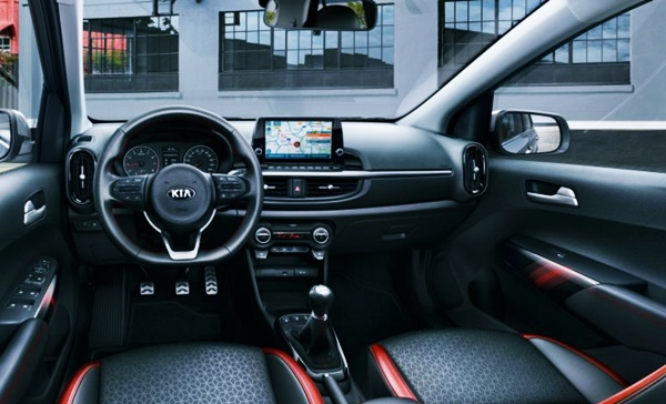 2022 KIA Picanto GT Line Interior