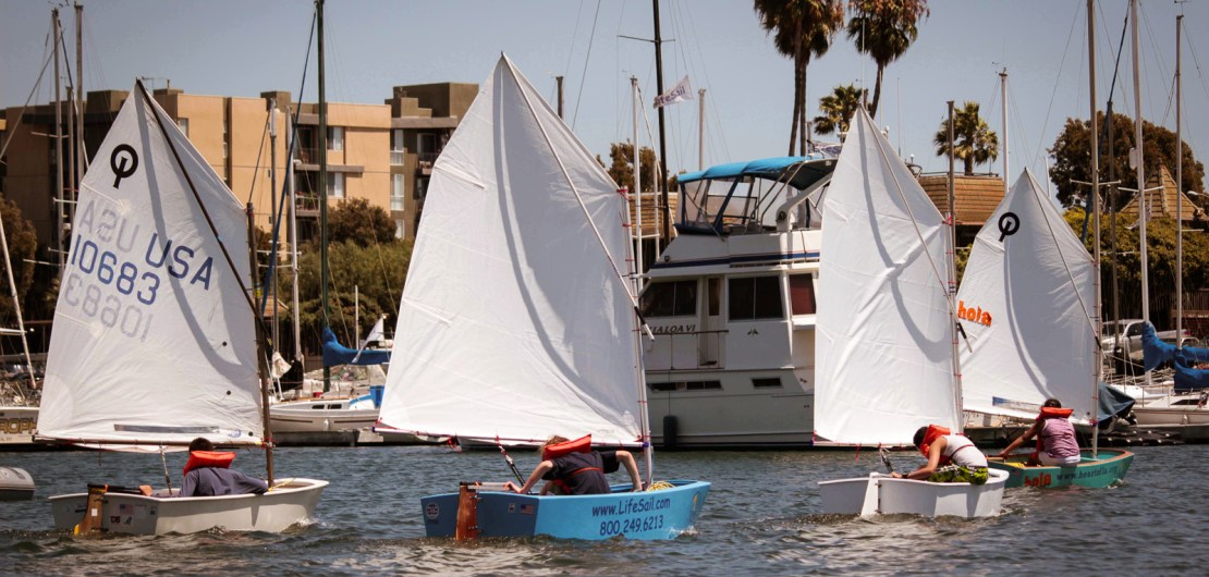The Future : Teaching Young People to Sail