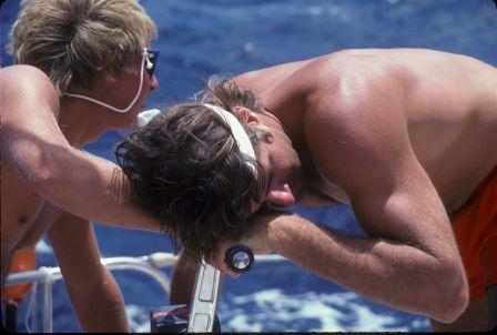 1970s - 1980s crew cranking