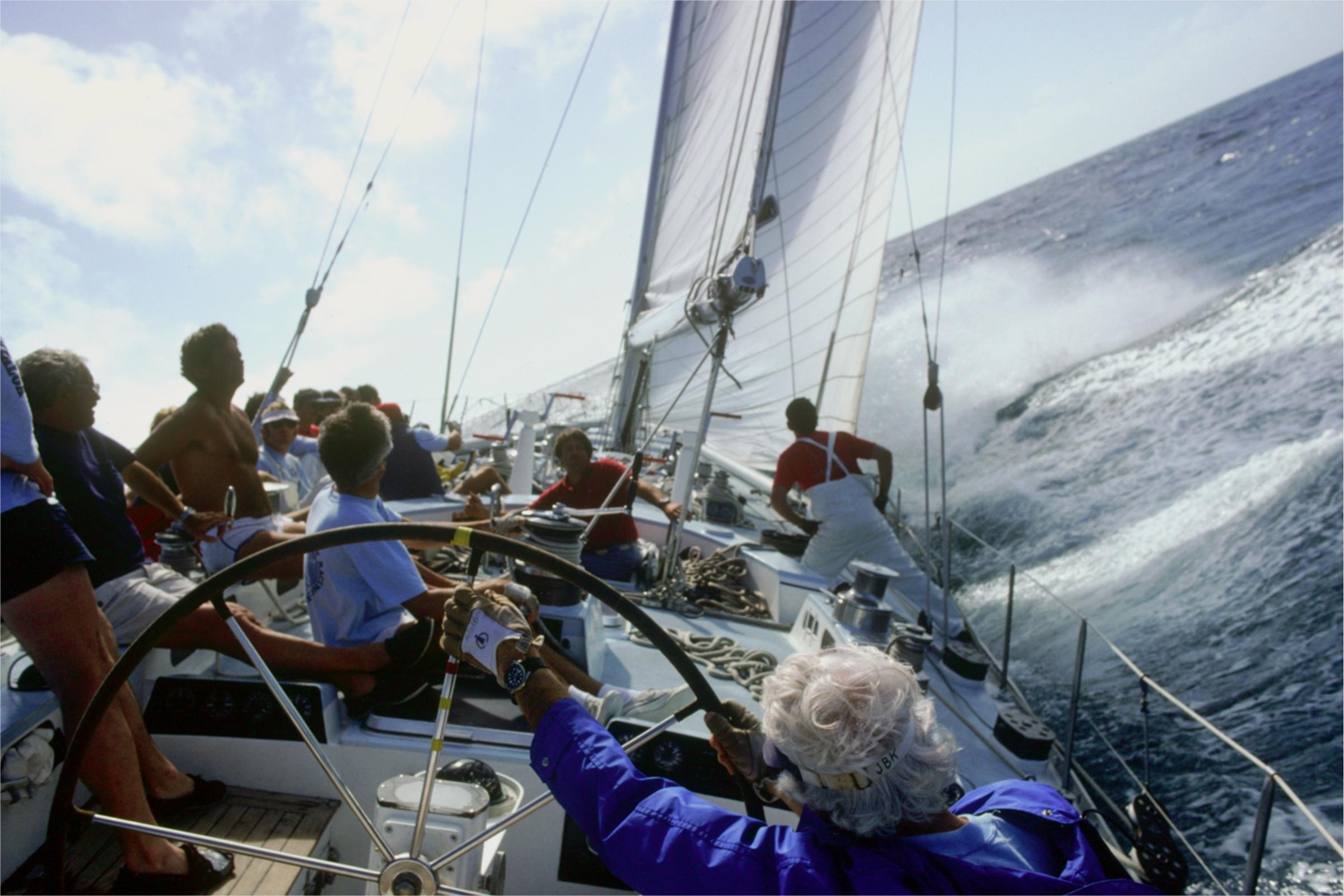 1980s, Kialoa crew