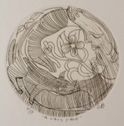 Charles Balckman A Cats Tale Trial Proof Etching
