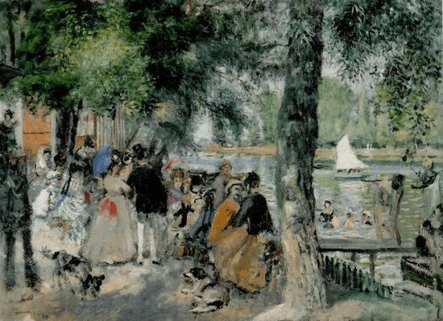 Impressionism monet and renoir la grenouill re the for La grenouillere