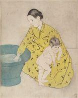 Mary Cassatt, The Bath, 1890-91