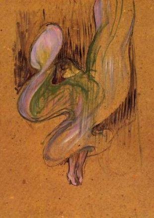 Toulouse-Lautrec, study for Miss Loie Fuller