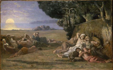 Pierre Puvis de Chavannes, Sleep, 1867-70