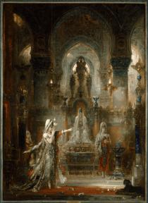 Gustave Moreau, Salome Dancing before Herod, 1874-76