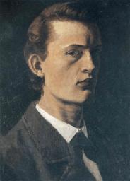 Edvard Munch, Self Portrait, 1881-2