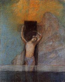 Odilon Redon, Christ on the Cross, 1897