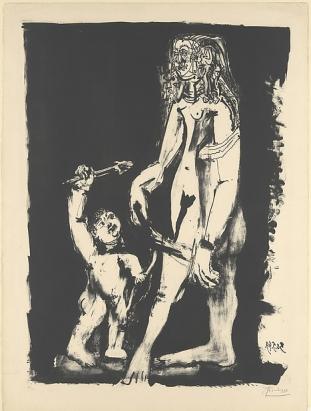 Picasso, Venus and Cupid, 1949
