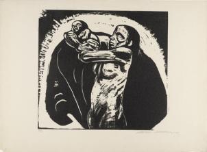 Käthe Kollwitz, The Sacrifice, 1923