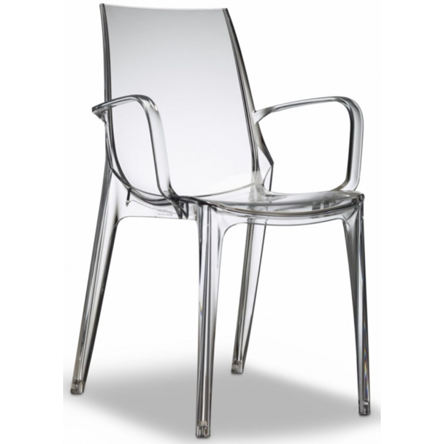 Clear Vanity Chair Sc Vanity Arm Chair Clear Transparent