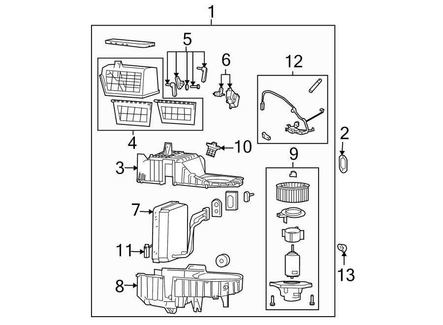 Kia Sorento Evaporator. Conditioning. Thermistor. Air. (A