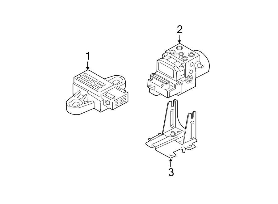 Kia Sorento Abs hydraulic assembly. Abs pump assy