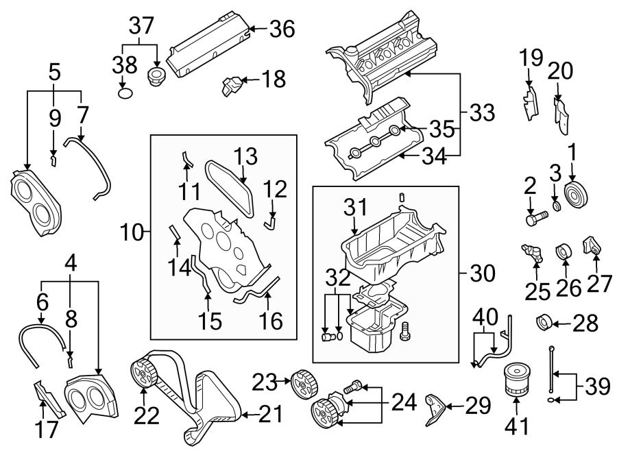 Kia Sorento Engine Crankshaft Pulley Bolt. 3.5 LITER