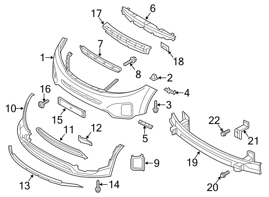 Kia Sorento Powertrain Skid Plate (Front). PLATES, WSTEEL