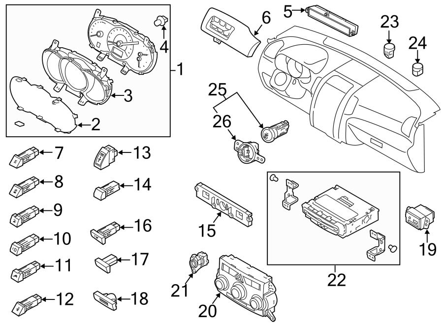 2013 Kia Sorento Instrument Panel Cover (Lower). 2011-13