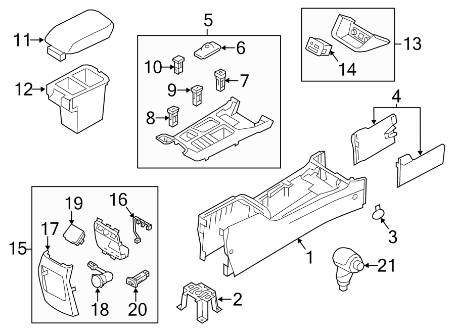 Kia Sorento 12 volt accessory power outlet. 2014-15, 110v
