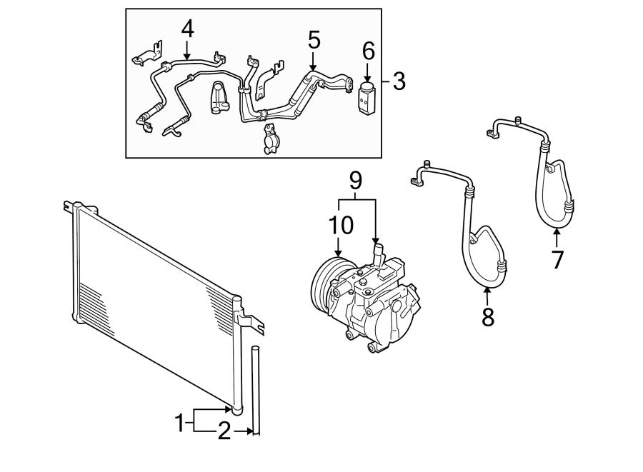 Kia Rio A/c expansion valve. Repair, air, conditioning