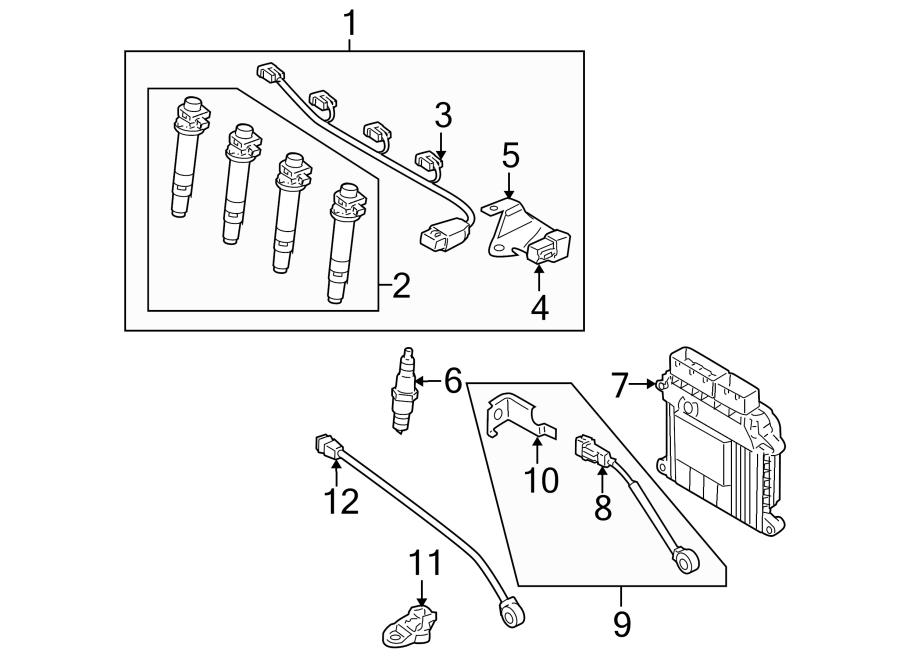 Kia Rio Engine Control Module. Auto trans. Rio, Rio5; Auto