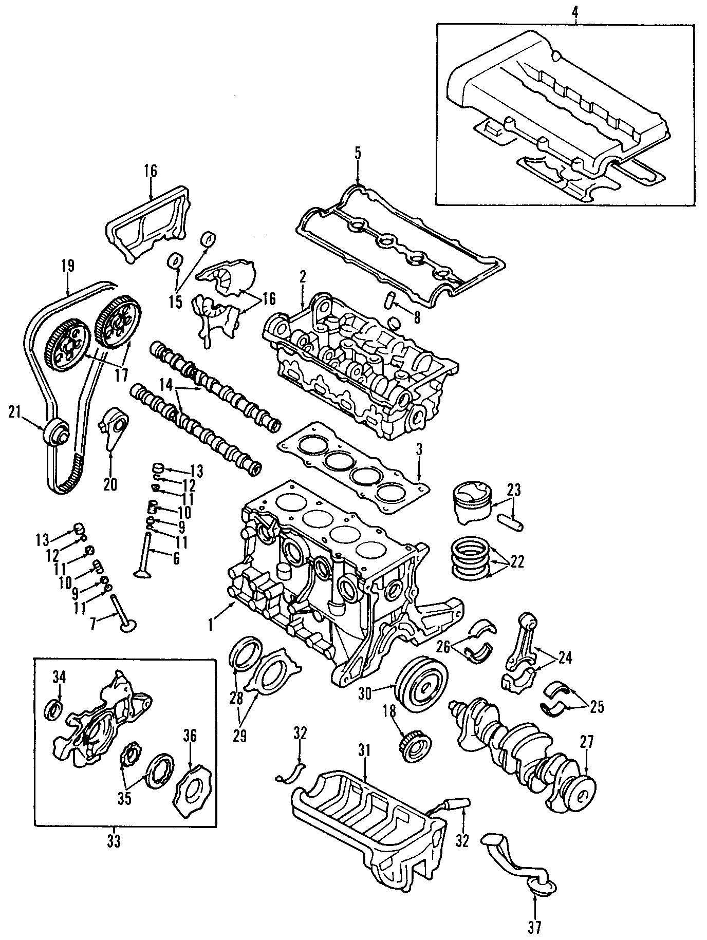 Kia Rio Engine. SHORT. BLOCK. ASSEMBLY. Complete Assembly