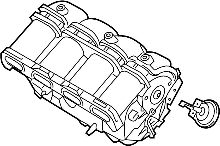 Kia Optima Engine Intake Manifold. LITER, TRANSAXLE