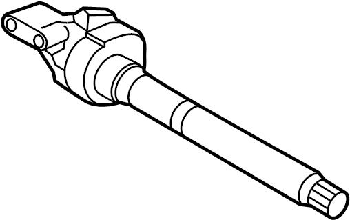 Kia Sportage Cv intermediate shaft. Axle, assembly, drive