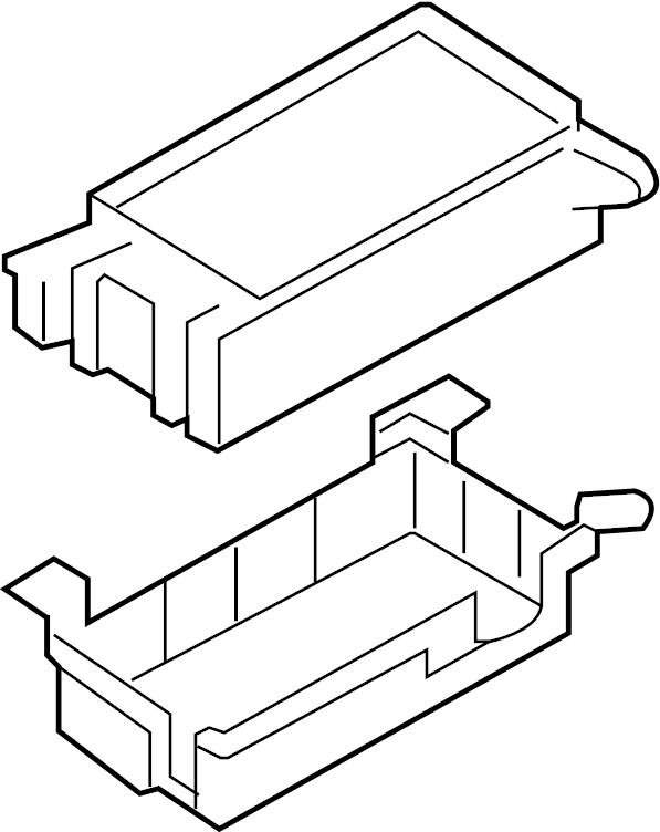 Kia Sorento Fuse and relay box assembly. 2007-09
