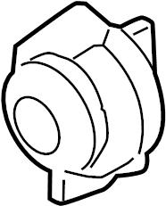 2013 Kia Sorento Turn Signal Light Socket (Front