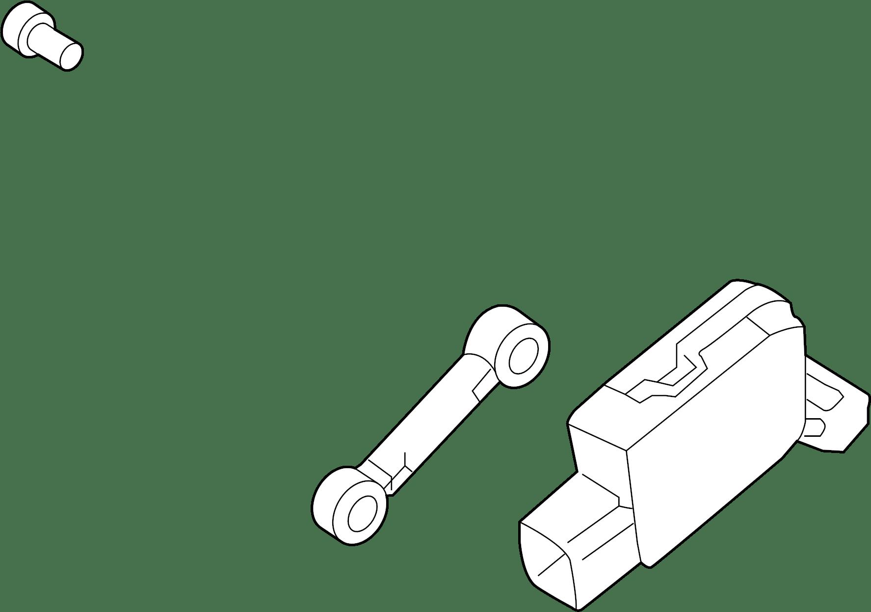 Kia Sorento Headlight Level Sensor (Left). HEADLAMP