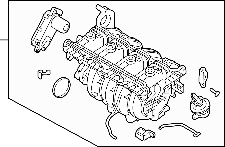 Kia Optima Engine Intake Manifold