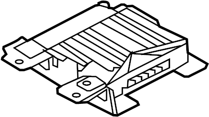 Kia Sorento Radio Amplifier. Extension Amplifier Assembly