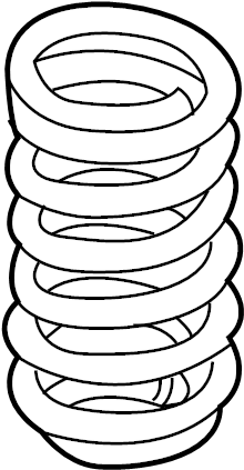 Kia Sorento Coil Spring (Rear). SUSPENSION, Sunroof