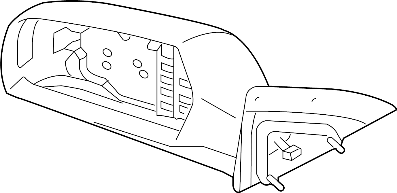 Kia Optima Door Mirror (Right, Rear). Front, Replace