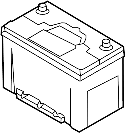Kia Sedona Battery. 3.8 liter. 60 amp. Us build, 68 amp