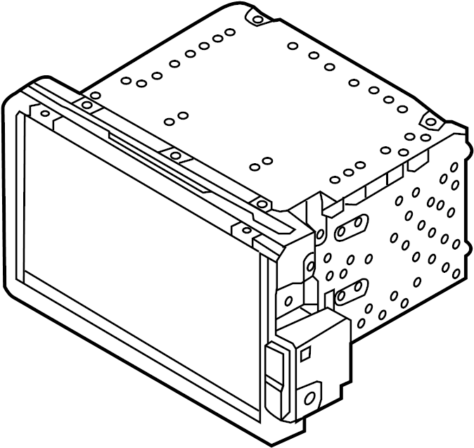 Kia Optima Gps navigation system. Optima; w/jbl. W/o