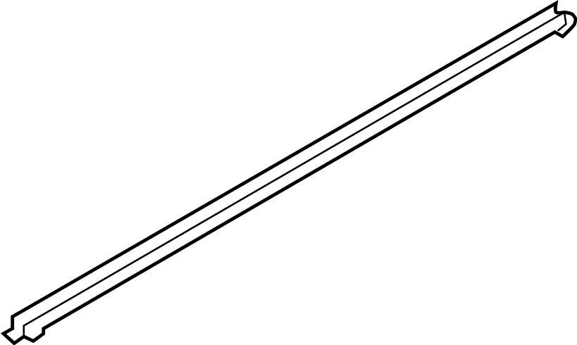 Kia Optima Door Window Belt Weatherstrip (Rear). W/HYBRID