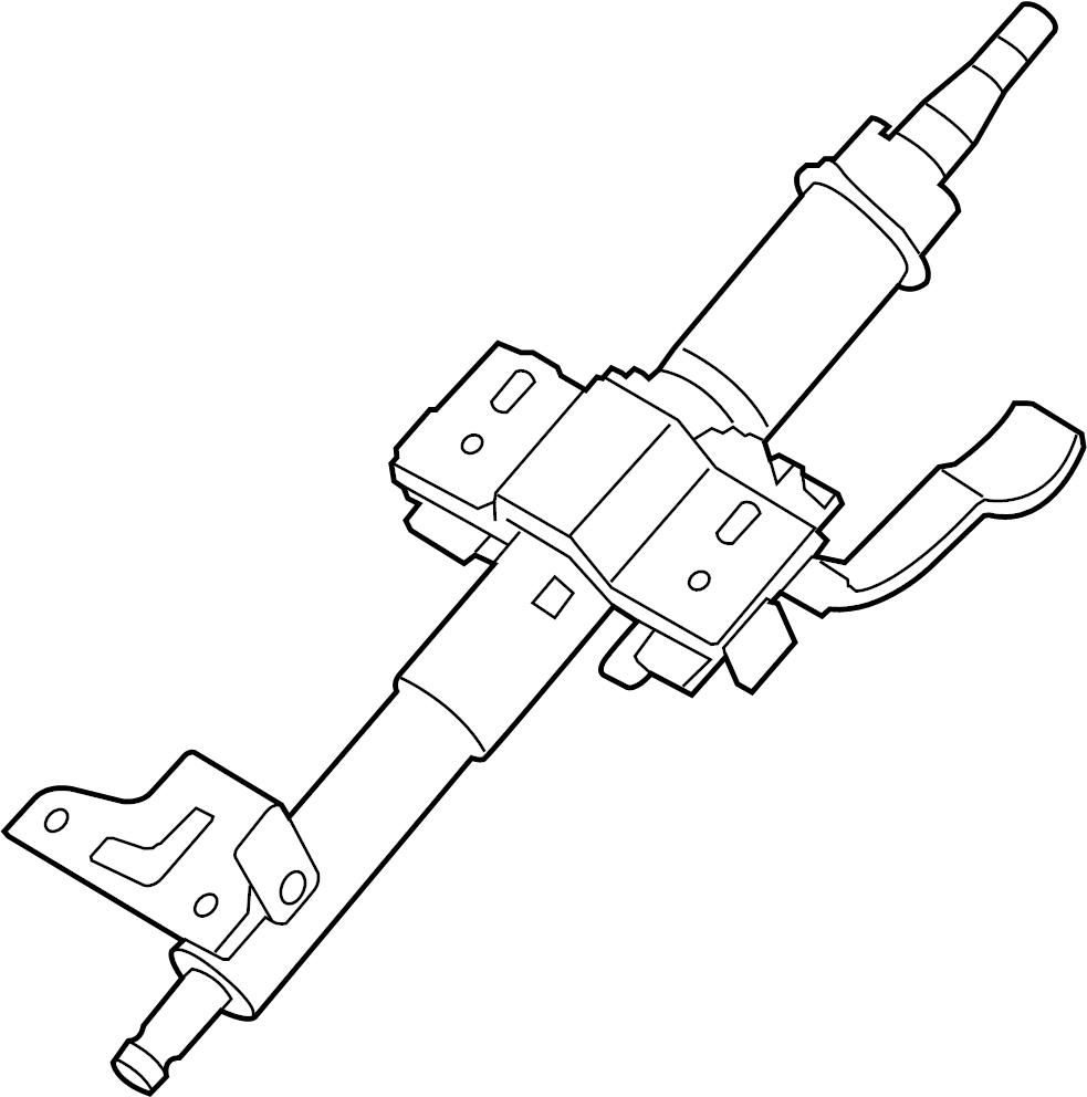 Kia Soul Steering Column (Upper). Column Assembly