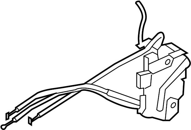Kia Soul Actuator. Lock. Latch. (Left, Front). Door, Motor