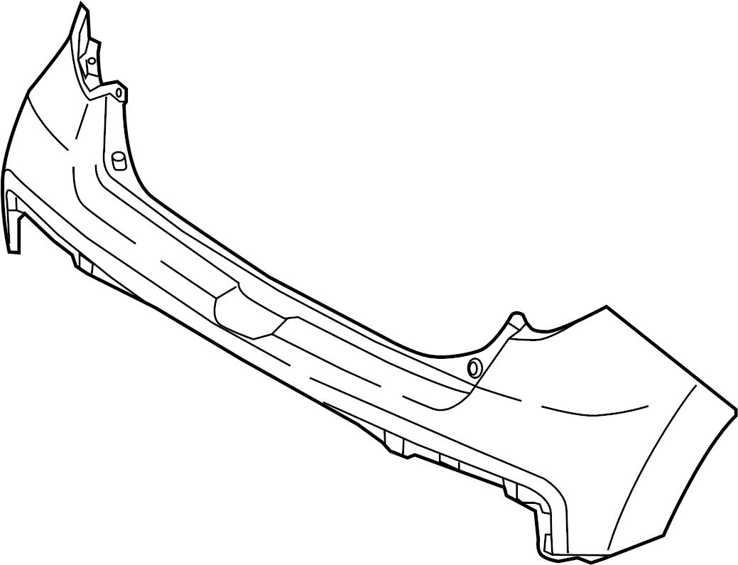 Kia Soul Bumper Cover (Rear, Upper, Lower). SOUL +, SOUL
