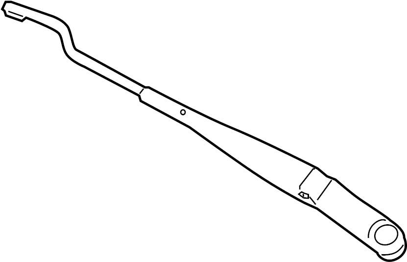 2012 Kia Windshield Wiper Arm (Front). Arm. Wiper. W/SHLD