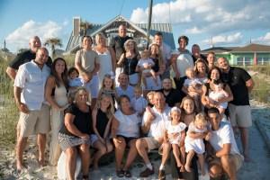 Family Beach Portraits, Panama City Beach