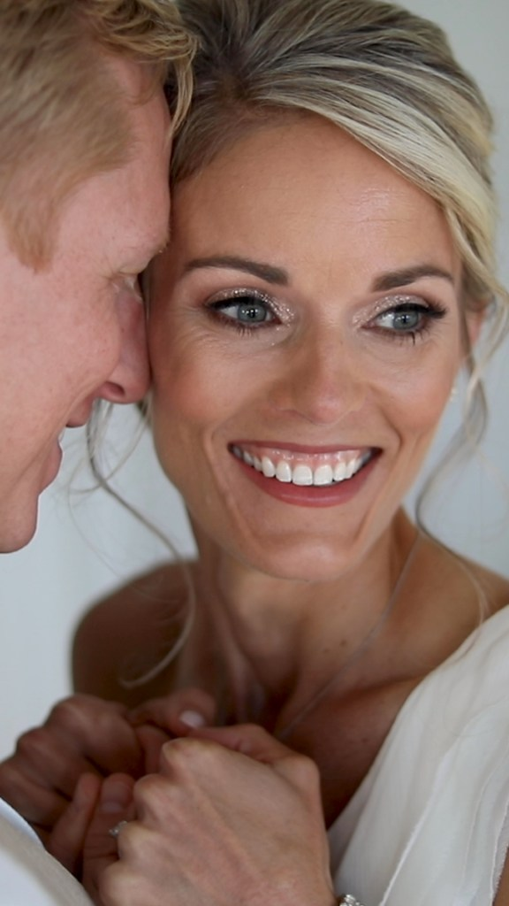 bride and groom portraits in 30A Florida