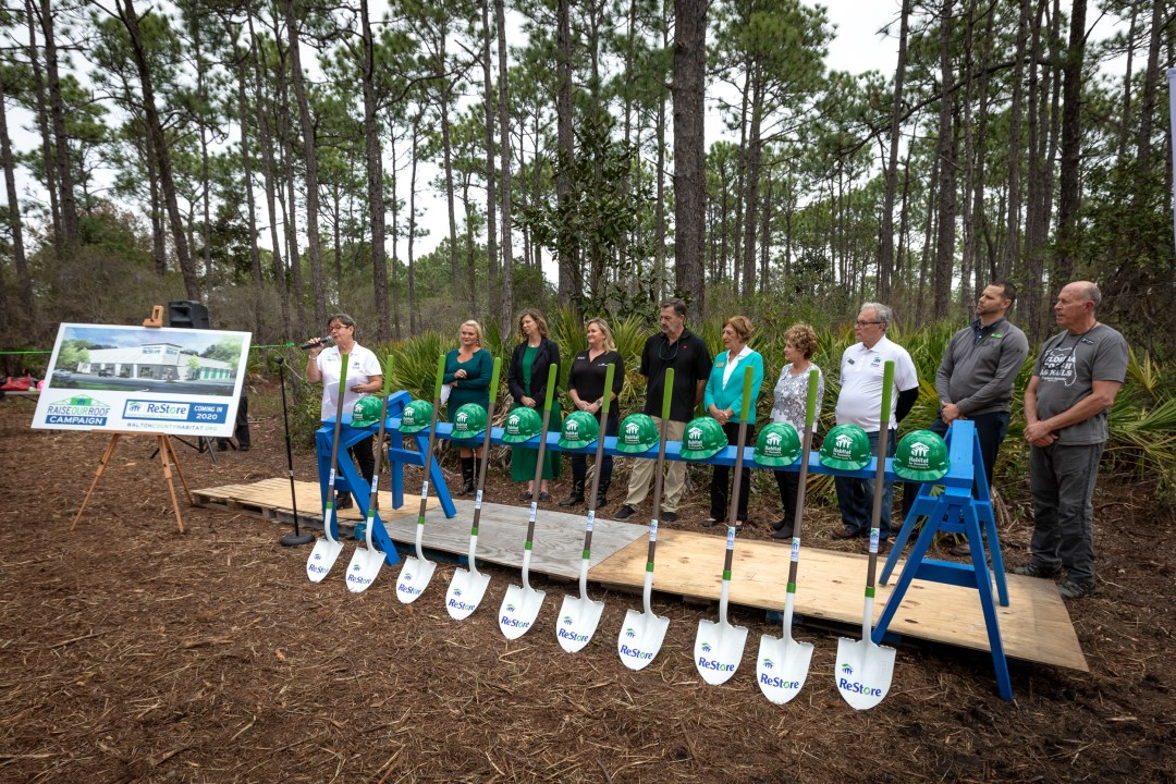 Habitat for Humanity of Walton County non-profit capital campaign and groundbreaking event
