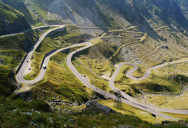 Twisted spectacular road trip Romania