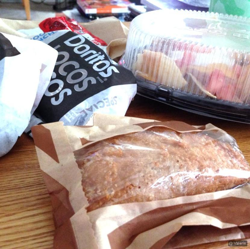 Taco Bell lunch