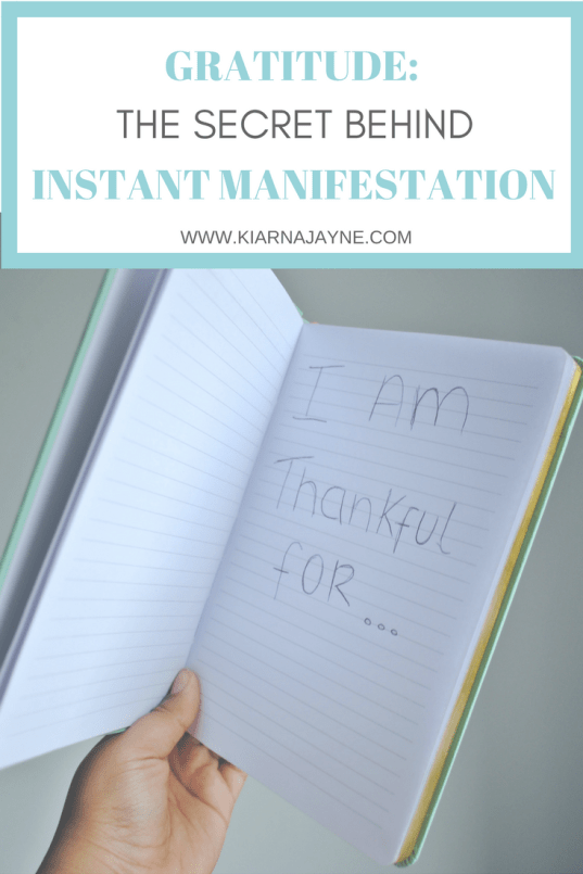 Gratitude - The Secret Behind Instant Manifestation