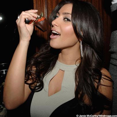 slut Kardashian hot