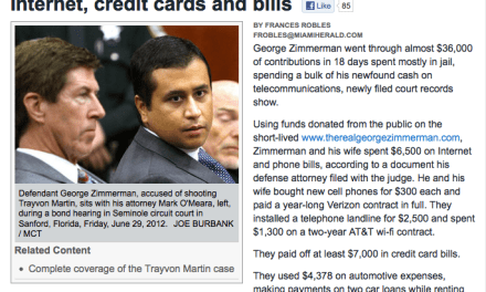 George Zimmerman Shucks & Jives for 72 Hours so He Can Cash Out…Again…