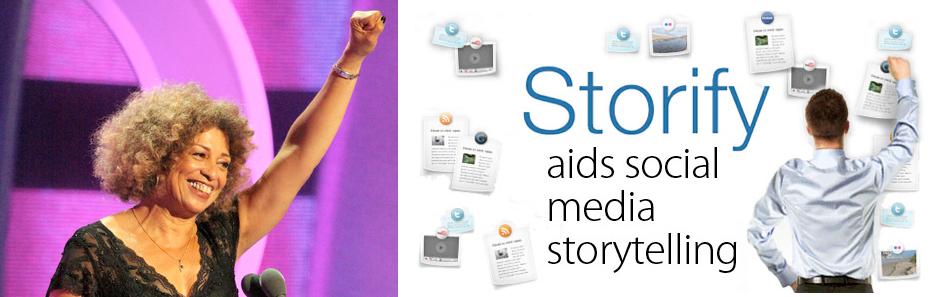 Angela Davis Meets Storify