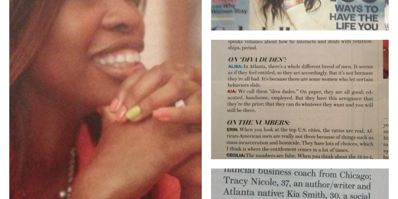Single Ladies, Dating & Relationships: Kia Speaks in Ebony Magazine